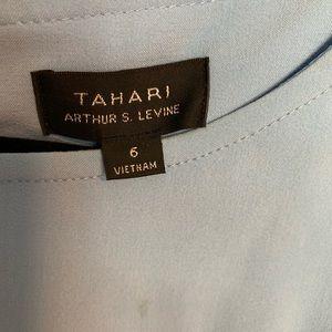 Short sleeve Tahari dress with pockets